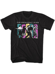 The Breakfast Club American Classic 80s Movie Adult Short Sleeve Breakdance T-Shirt Graphic Tee