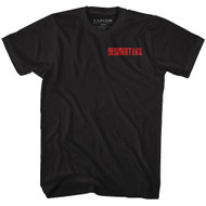 Resident Evil Video Game Front & Back Images Adult Short Sleeve T-Shirt Graphic Tee