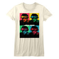 Animal House American Movie Color Block Themed Adult Short Sleeve T-Shirt Graphic Tee