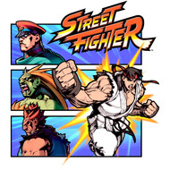 Street Fighter SF Fight a Guy Adult Short Sleeve Video Game T-Shirt Graphic Tee
