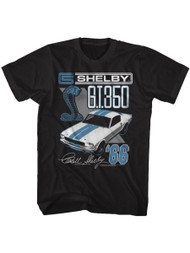 Shelby Cobra 1966 GT350 American Sports race Car Adult T-shirt Graphic Tee