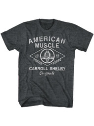 Carroll Shelby vintage racing Cobra American muscle Sports race Car Adult T-shirt Graphic Tee