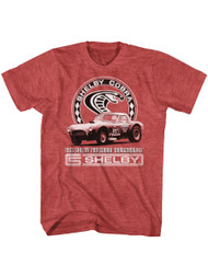 Shelby Cobra 1963 American Sports race car 289 Dragon snake Adult T-shirt Graphic Tee
