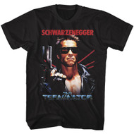 The Terminator Iconic Movie The Name Image Adult Short Sleeve T-Shirt Graphic Tee