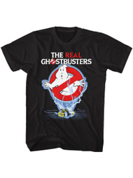 Ghostbusters 80s Movie Ghost Trap Image Adult Short Sleeve T-Shirt Graphic Tee