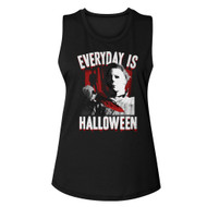 Halloween Michael Myers American Horror Film Everyday is Halloween Adult Short Sleeve T-Shirt Graphic Tee
