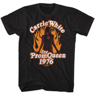 Carrie Horror Film Carrie White For Prom Queen 1976 Adult Short Sleeve T-Shirt Graphic Tee