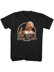 Sanford and Son 70s Show Redd Foxx How Bout 5 Cross Yo Lip Adult Short Sleeve T-Shirt Graphic Tee