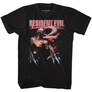 Resident Evil Gaming Mr. Licker Adult Short Sleeve T-Shirt Graphic Tee