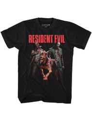 Resident Evil Gaming Monster Hits Adult Short Sleeve T-Shirt Graphic Tee