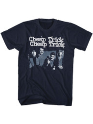Cheap Trick American Rock Band Thumbs Up Image Adult Short Sleeve T-Shirt Graphic Tee