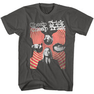 Cheap Trick American Rock Band Hypnosis Band Image Adult Short Sleeve T-Shirt Graphic Tee