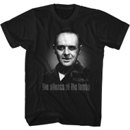The Silence of the Lambs 90s Movie Hannibal Lector Image Adult Short Sleeve T-Shirt Graphic Tee