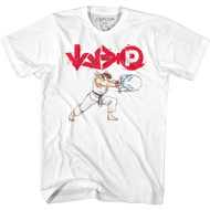 Street Fighter Gaming Ryu Hadouken Attack  Adult Short Sleeve T-Shirt Graphic Tee