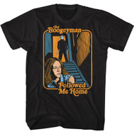 Halloween Movie The Boogeyman Followed Me Home Adult Short Sleeve T-Shirt Graphic Tee