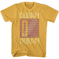 Duran Duran Band Khanada Logo Adult Short Sleeve T-Shirt Graphic Tee