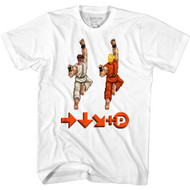 Street Fighter Gaming Sprite Punch Adult Short Sleeve T-Shirt Graphic Tee