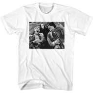 Bill & Ted's Excellent Adventure 80s Movie Melvin Black & White Photo Adult Tee