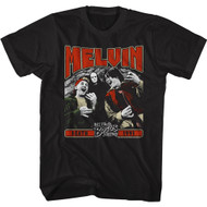 Bill & Ted's Excellent Adventure 80s Movie Melvin Death 1991 Adult Short Sleeve T-Shirt Graphic Tee