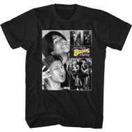 Bill & Ted's Excellent Adventure 80s Movie Bogus Journey Photo Collage Adult Tee