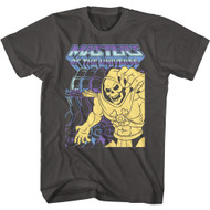 Masters of the Universe 80s TV Cartoon Skeletor Adult Short Sleeve T-Shirt Graphic Tee