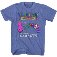 Killer Klowns 80s Movie The Circus is Coming to Planet Earth Adult Short Sleeve T-Shirt Graphic Tee