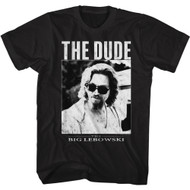 The Big Lebowski 90s Movie The Dude Adult Short Sleeve T-Shirt Graphic Tee