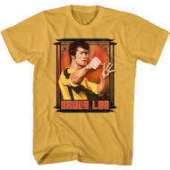 Bruce Lee Martial Artist Actor  Action Portrait Adult Short Sleeve T-Shirt Graphic Tee