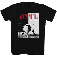 Ace Ventura 1994 Comedy Movie Jim Carrey Ballet Tutu Black White Adult T-Shirt
