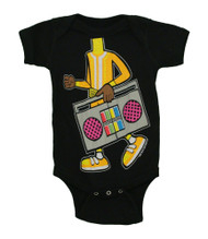 Yo Gabba Gabba I Am DJ Lance Rock Mighty Fine Baby Creeper Romper Snapsuit