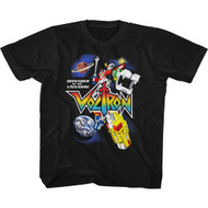 Voltron Animated TV Show Defender Of The Universe Toddler Short Sleeve T-Shirt Graphic Tee