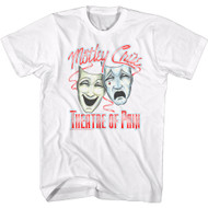 Motley Crue Rock Band Theatre of Pain Album Cover Adult Short Sleeve T-Shirt Graphic Tee