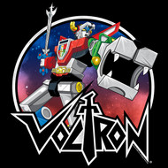 Voltron Animated TV Show Circle Robot Sketch Youth Short Sleeve T-Shirt Graphic Tee