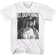 The Big Lebowski 90s Movie El Duderino The Dude Adult Short Sleeve T-Shirt Graphic Tee
