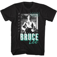 Bruce Lee Actor Martial Artist Be Water Adult Short Sleeve T-Shirt Graphic Tee