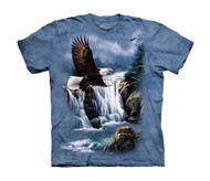 American Bald Eagle Magestic Flight Big Boys T-Shirt Tee