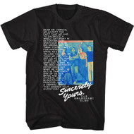 The Breakfast Club 80s Movie Dear Mr Vernon Sincerely Yours Adult Short Sleeve T-Shirt Graphic Tee