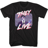 Scareface 80s Movie Tony Montana Smoking Adult Short Sleeve T-Shirt Graphic Tee