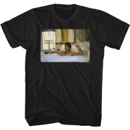 Scareface 80s Movie Tony Montana The American Dream Bubble Bath Adult Short Sleeve T-Shirt Graphic Tee