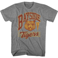 Saved by the Bell TV Show Bayside Tigers 1993 Adult Short Sleeve T-Shirt Graphic Tee