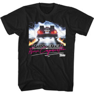 Back To The Future 80s Movie Outatime Flux Capacitor Adult Short Sleeve T-Shirt Graphic Tee