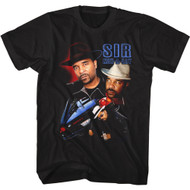 Sir Mix A Lot Rapper Images of Singer & Car Adult Short Sleeve T-Shirt