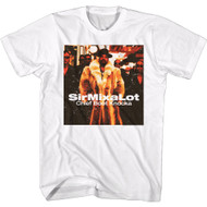 Sir Mix A Lot Rapper Chief Boot Knocka Album Cover Adult Short Sleeve T-Shirt
