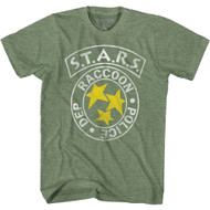 Resident Evil Video Game S.T.A.R.S. Raccoon Police Dept. Adult Short Sleeve T-Shirt