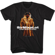 Sir Mix A Lot Rapper Chief Boot Knocka Adult Short Sleeve T-Shirt