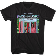 Bill & Ted Face The Music 2020 Phone Booth Image Adult Short Sleeve T-Shirt