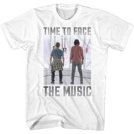 Bill & Ted 2020 Time To Face The Music Image Adult Short Sleeve T-Shirt
