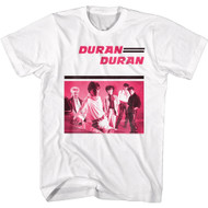 Duran Duran 80s Music Band Image Adult Short Sleeve T-Shirt Graphic Tee
