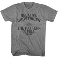 Top Gun 1980's Military Action Movie Negative Ghostrider Pattern is Full T-Shirt