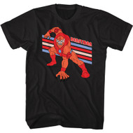 Masters of the Universe 80s Cartoon Beastman Image Adult Short Sleeve T-Shirt Tee